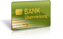 Bank Überweisung
