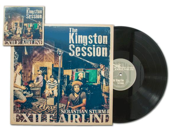 Sebastian Sturm & Exile Airline - The Kingston Session - CD - Vinyl