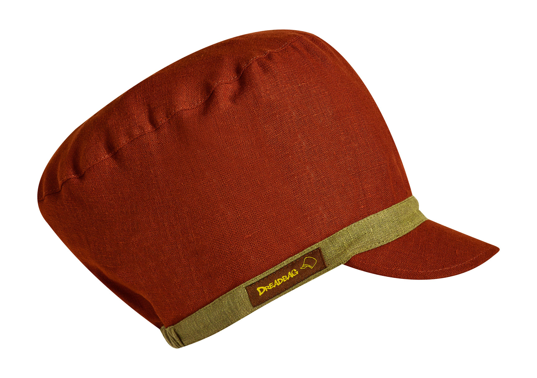 Redbrown dreadbag linen