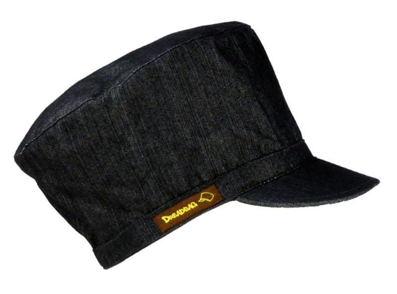 Jeans Dreadbag Dreadmütze Rastafarai Cap Dreadlock Hat