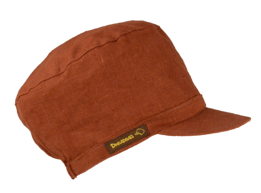 Red brown Dreadbag linen