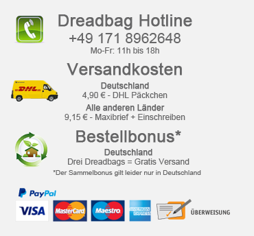 Dreadbag - Dreadlocks Mützen Shop