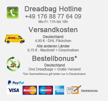 Dreadbag - Dreadlocks Mützen Shop