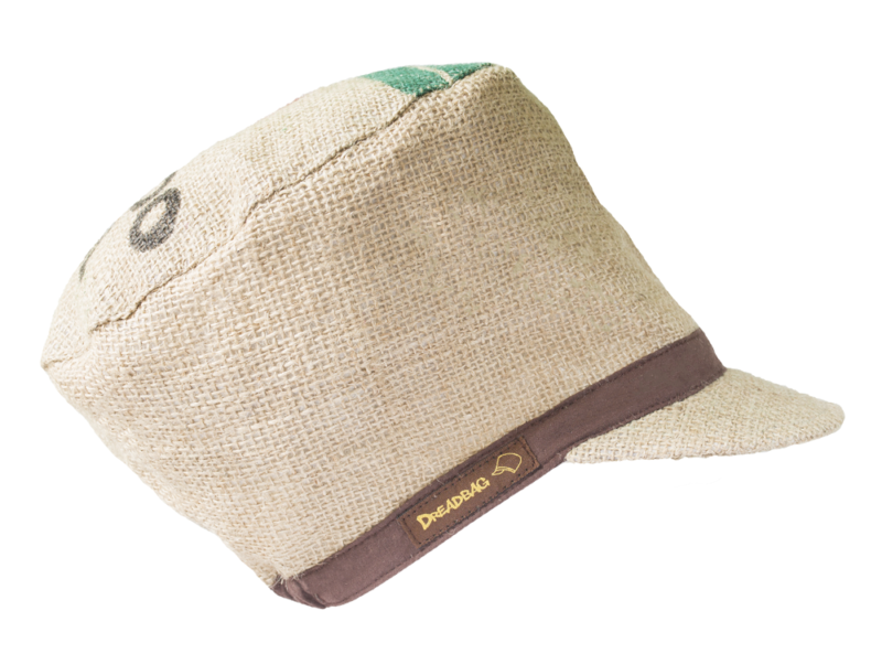 Kaffeesack Dreadlocks Mütze