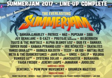 Summerjam фестивал 2017