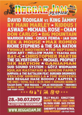 Reggae Jam Festival 2017 - Bersenbrück