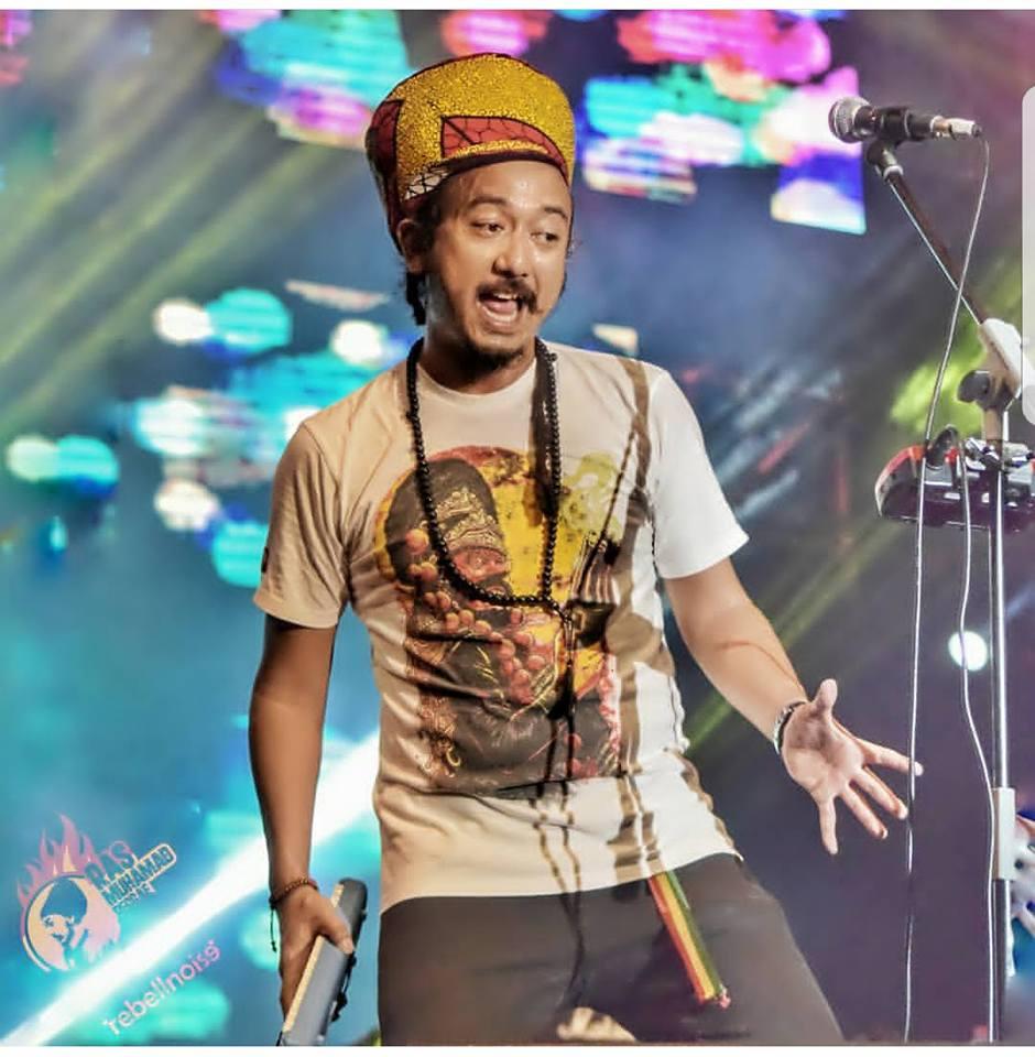 Ras Muhamad - indonezyjski artysta reggae