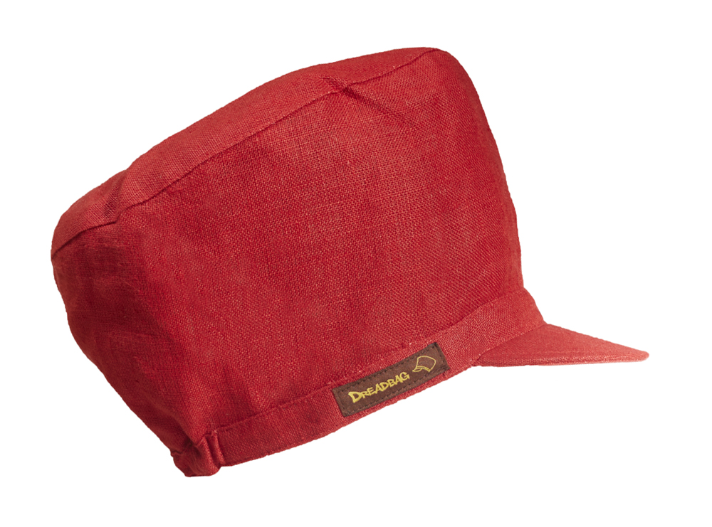 Red linen na Dreadbag
