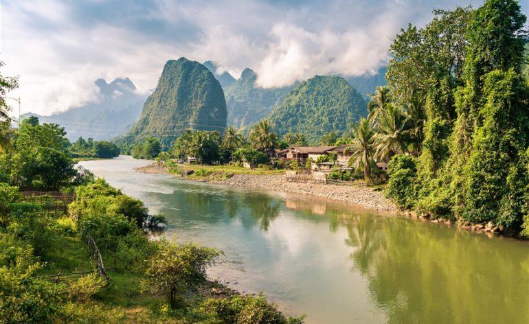 Laosz Vang Vieng