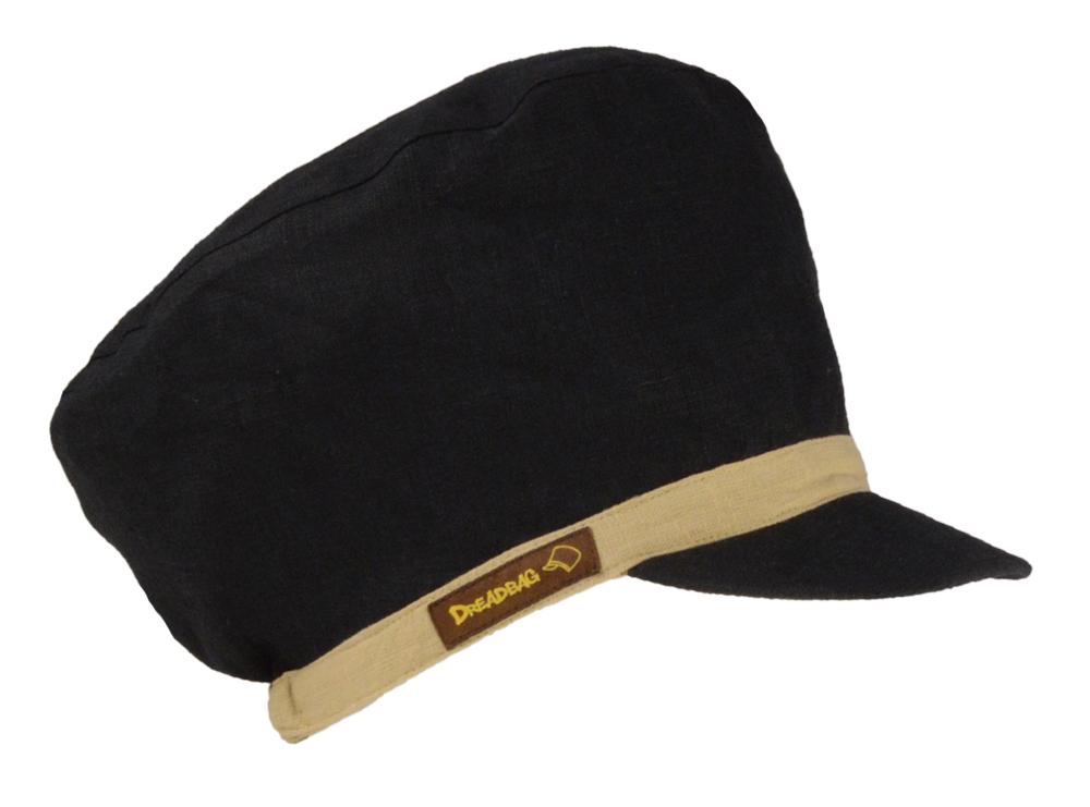 Buy Black Dreadlocks Hat from Leinen