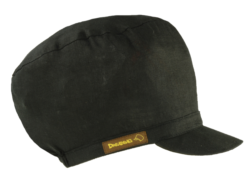 Black Dreadbag Linen - Buy Dreadlocks Beanie