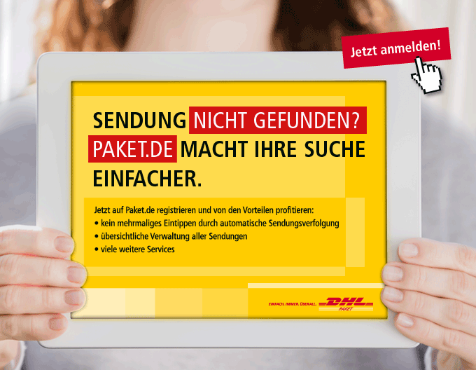 Paket.de - DHL - Sendungsverfolgung