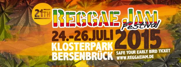 ʻO ka pahu hauʻoli - Reggae Jam Festival 2015 Bersenbrück