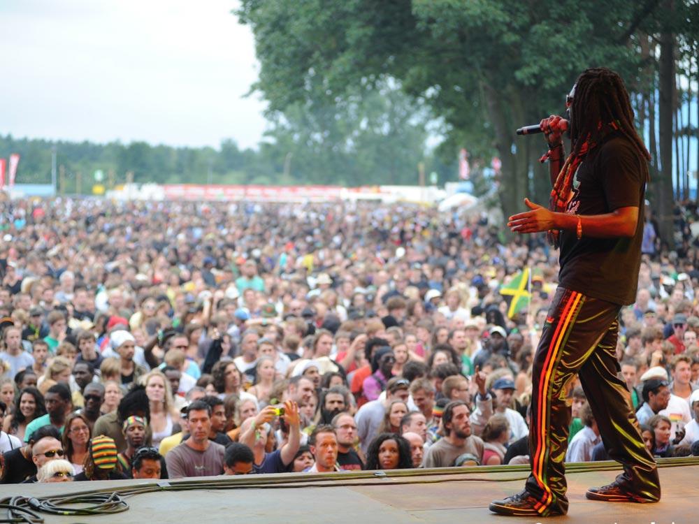 Dreadbag Stand - Reggae Geel Festival 2015