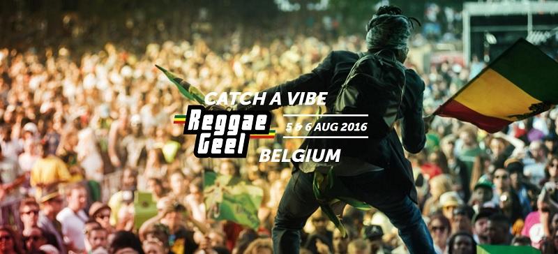 Reggae Geel Festival 2016 - stojalo za pločevino