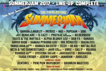 Summerjam Festival 2017 - Dreadbag Stand