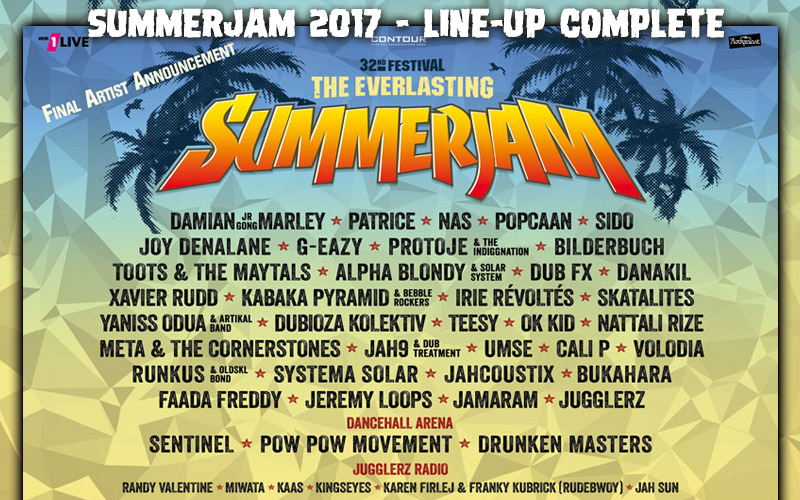 Féile Summerjam 2017 - Seas Dreadbag
