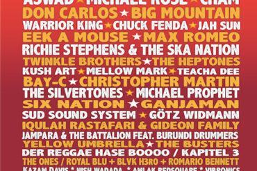 Reggae Jam Festival 2017 - Stojalo za pločevino