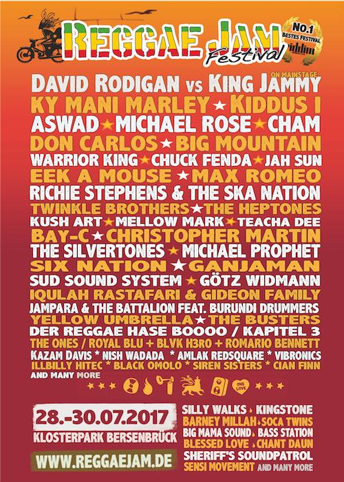 Reggae Jam Festival 2017 – Dreadbag Stand