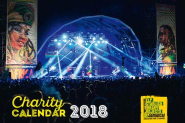 Aidez la Jamaïque! Calendrier de charité 2018