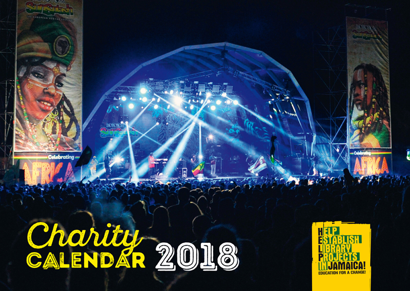 Help Jamaica! Charity Kalender 2018