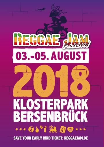 Фестиваль Reggae Jam 2018