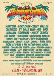 Festival Summerjam 2018 Flyer