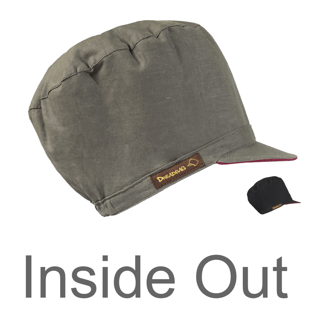 DB-Inside-Out reversible hat for dreadlocks