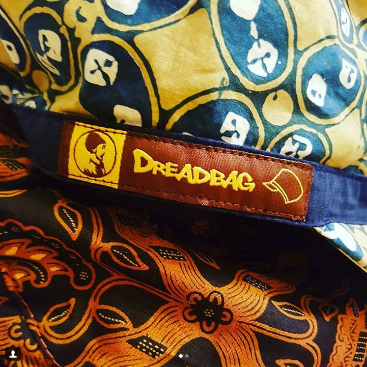 "Limited batik ""Ras Muhamad"" Dreadbag Edition"