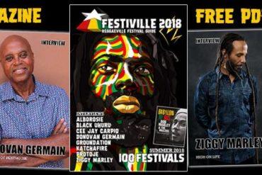 Zdarma ke stažení Festiville 2018 - Reggae Festival Festival Guide