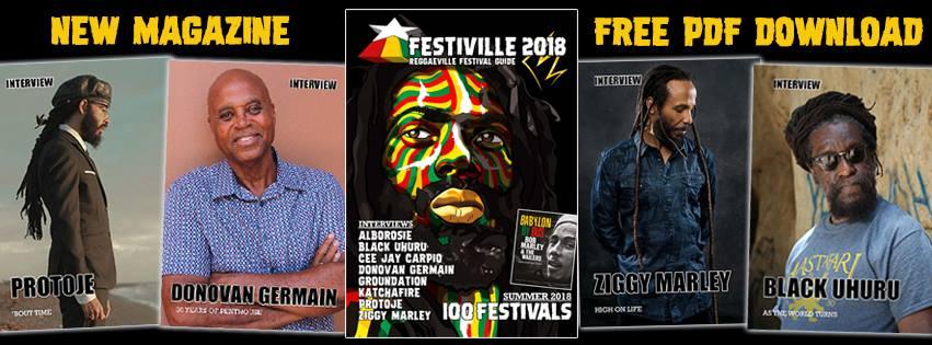 Gratis downloaden Festiville 2018 - Reggae Festival Festival Guide