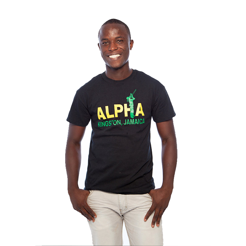 Alpha Boys School T Shirt Black Dreadbag De