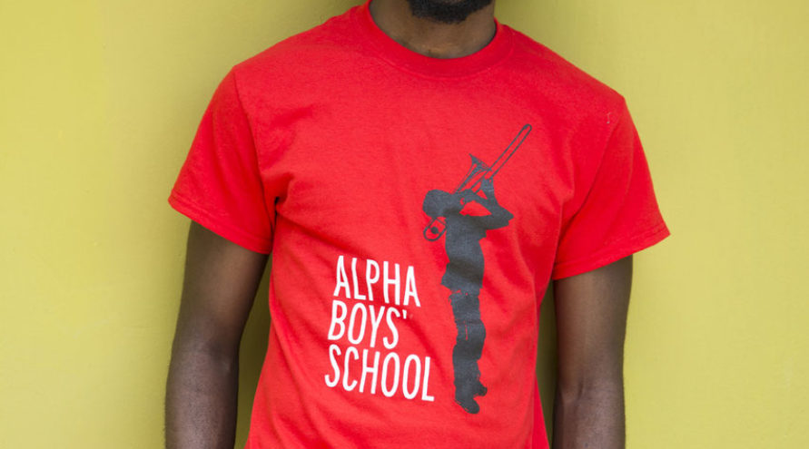 Alpha Boys School T-Shirt (Yellow)