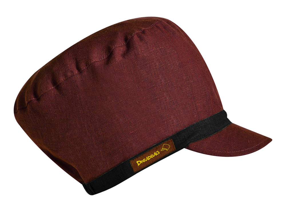 Vin Red Dreadbag Linen - Kjøp Dreadlocks Beanie