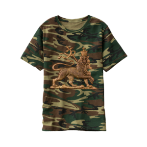 Ixtri Jah Army T-Shirt - Konkwista ta 'Lion of Judah