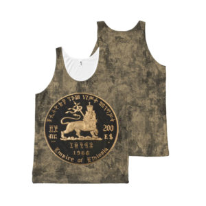 Lion of Judah - Tank Top - Gold - kaaft lounen