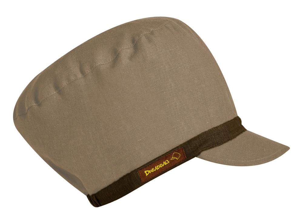 Beiger Dreadbag Leinen - Dreadlocks Mütze kaufen