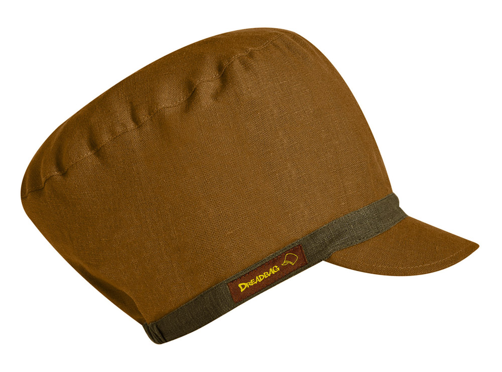 Rotbrauner Dreadbag Leinen - Dreadlocks Mütze kaufen