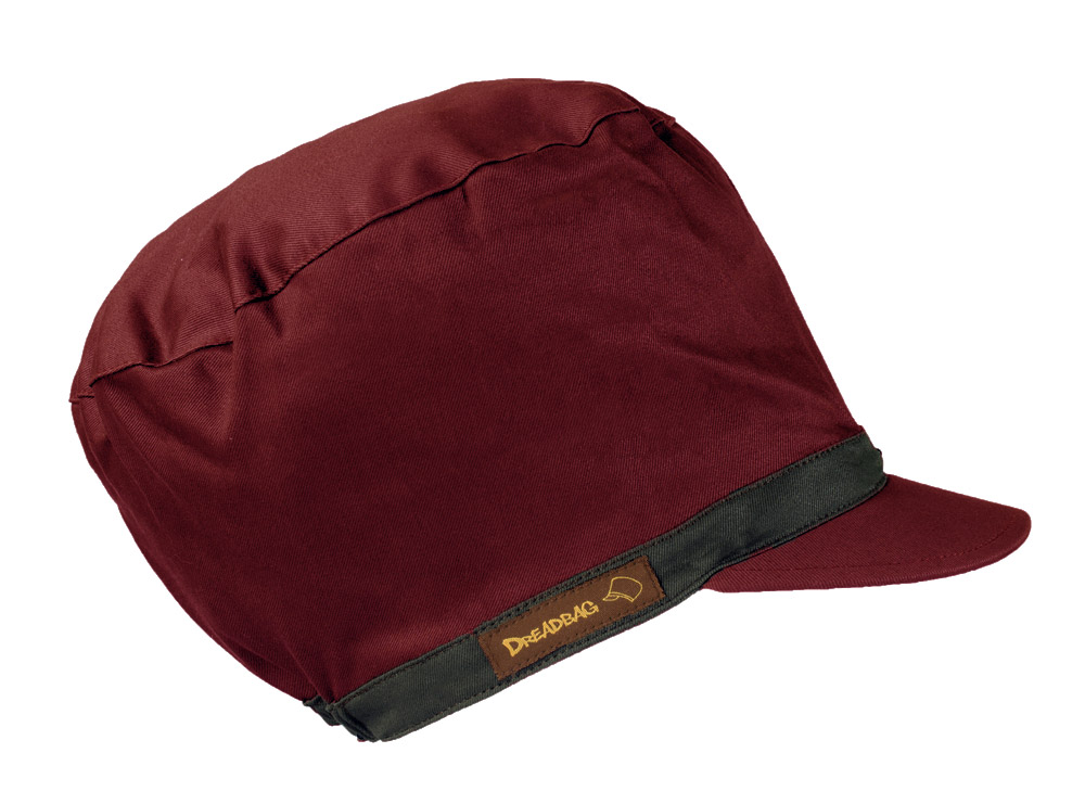 Dark Red Dreadbag Canvas - Buy Dread Hat