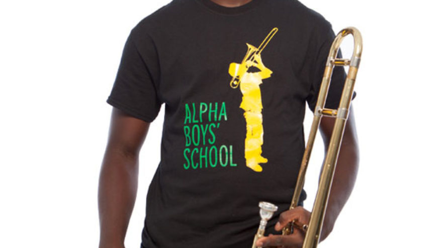 Alpha Boys School T-shirt (zwart)