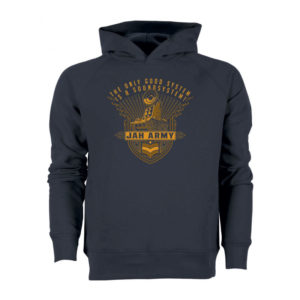 Jah Army - Good System - Hoody Navy