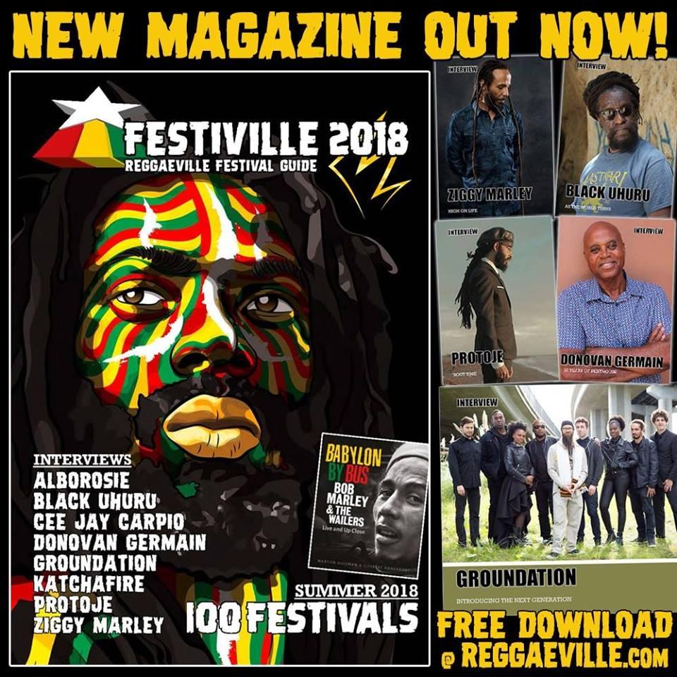 Reggaeville - Festiville 2018