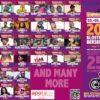 Féile Reggae Jam 2018 - Líne ar bun