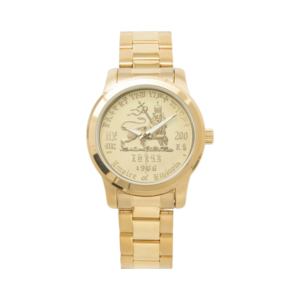 Liona avy any Joda - Gold Watch - Vidio Reggae Rastafari Roots Unisex Watch