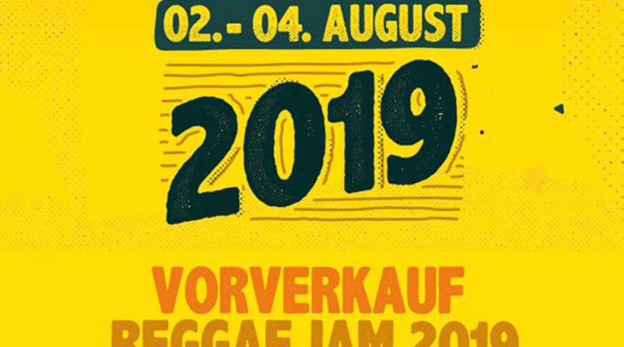 Reggae Jam 2019 – Tickets