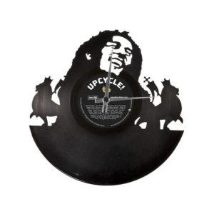 Vinyl Vinyl Wandklok - Koop Bob Marley Clock online