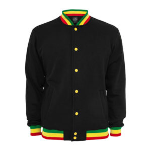Kaaft Urban Classic Rasta College Reggae Jacket online fir Great Prices