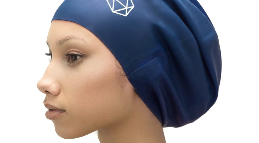 Swimming cap XL - dreadlocks