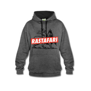 Rastafari Lion of Judah - Rastafara kup Bluza z kapturem