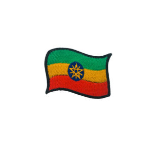 Etiopesch Flagge - Proud Africa - Kaaft Rastafari Reggae Roots Patch Online